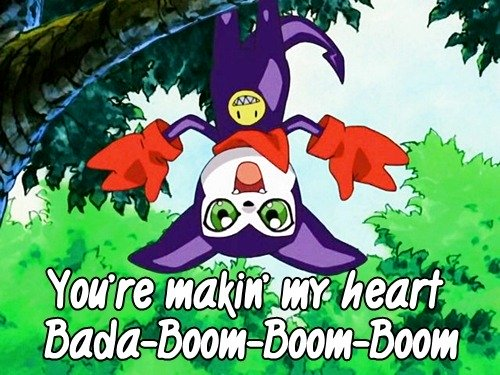 Digimon Pick Up LInes